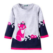 New Autumn Winter Kids Girls Long Sleeve Christmas Dress Princess Party ... - $9.99