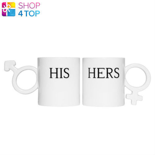 65ef8c148f9 57. 57. Previous. HIS AND HERS MUGS WHITE SYMBOLS HANDLE ANNIVERSARY MAN  WOMAN TEA COFFEE NOVELTY. HIS AND HERS ...