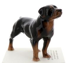 Hagen-Renaker Miniature Ceramic Dog Figurine Rottweiler image 2