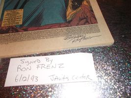 SIGNED by RON FRENZ * WHAT IF? # 42 * NM- * Fantastic Four's Susan DIES!... - $15.00