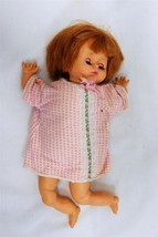 """ORIGINAL Vintage 1975 Uneeda 13"""" Baby Doll  - $19.79"""