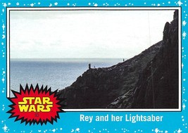 2017 Star Wars Journey To The Last Jedi #93 Rey And Her Lightsaber - €0,86 EUR
