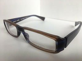 New ALAIN MIKLI AL 0777 AL0777 17 52mm Brown Purple Eyeglasses Frame France - $349.99