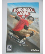 Playstation 2 - TONY HAWK'S DOWNHILL JAM (Replacement Manual) - $8.00