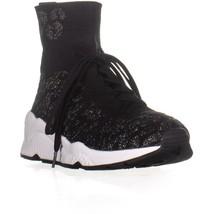 Ash Maniaco High Top Zapatillas de Moda Negro/Fiesta/Negro 8 Us / 38 Unión - $125.99