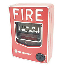 HONEYWELL NOTIFIER NBG-12LX FIRE ALARM PULL STATION IDP-PULL-SA NBG12LX image 1