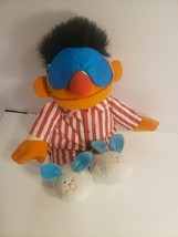 Tyco 1996 Sesame Street Sleep and Snore Ernie Talking & Singing Doll VIN... - $17.25