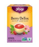 Yogi Tea, Berry DeTox, Caffeine Free, 16 Tea Bags, 1.12 oz (32 g) - $4.00