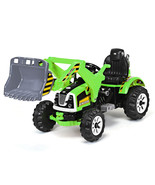 12 V Battery Powered Kids Ride on Dumper Truck-Green - $286.79