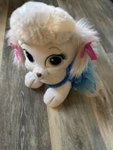 Build-A-Bear Disney Cinderella's White Dog Pumpkin with Blue Princess Dress BAB - $11.00