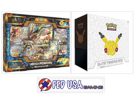 Mega Powers Collection + Generations Elite Trainer Box POKEMON TCG - $199.99