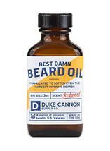 Duke Cannon Beard Bundle: Best Beard Oil, 3oz + Beard Balm, 1.6oz / Made with Na image 2