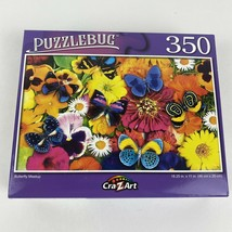 New 350 piece jigsaw puzzle - Puzzlebug _ Butterfly Meetup (new & sealed) - $6.70