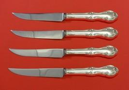 Joan of Arc by International Sterling Silver Steak Knife Set 4pc Serated... - $289.00