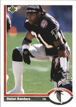 1991 Upper Deck #154 Deion Sanders > Atlanta Falcons > Florida State - $0.99