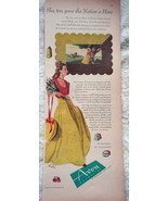 Avon Cosmetics She To Give The Nation Hero Print Advertisements Art 1940s - $6.99