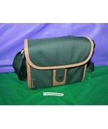 Vanguard Media Storage Carry Bag Case Green And Tan - $19.79