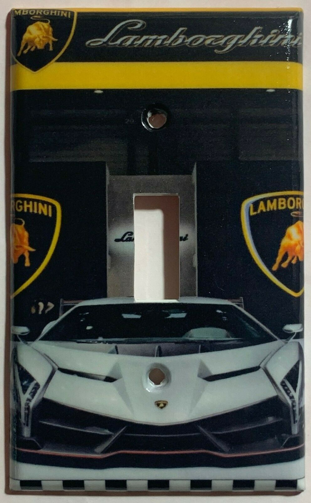 Lamborghini auto sport car Light Switch Power outlet Wall Cover Plate Home decor
