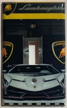 Lamborghini auto sport car Light Switch Power outlet Wall Cover Plate Home decor image 1