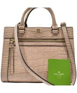 Women's Kate Spade Romy Perri Lane Croco Rosy Beige Bag - $289.17