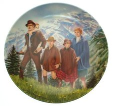 Bradford Exchange Knowles The Sound of Music Climb Every Mountain plate T Crnkov - $43.31