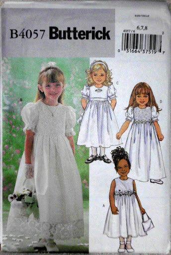 030d0d663ec0 Butterick 4057 Flower Girls, Party Dress and 29 similar items