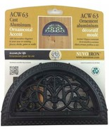 Nuvo Iron Half Round Decorative Gate, Fence Insert - ACW63 - $19.99