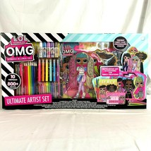 LOL Surprise OMG Ultimate Artist Set Outrageous Art Accessories Fierce Creations - $33.94