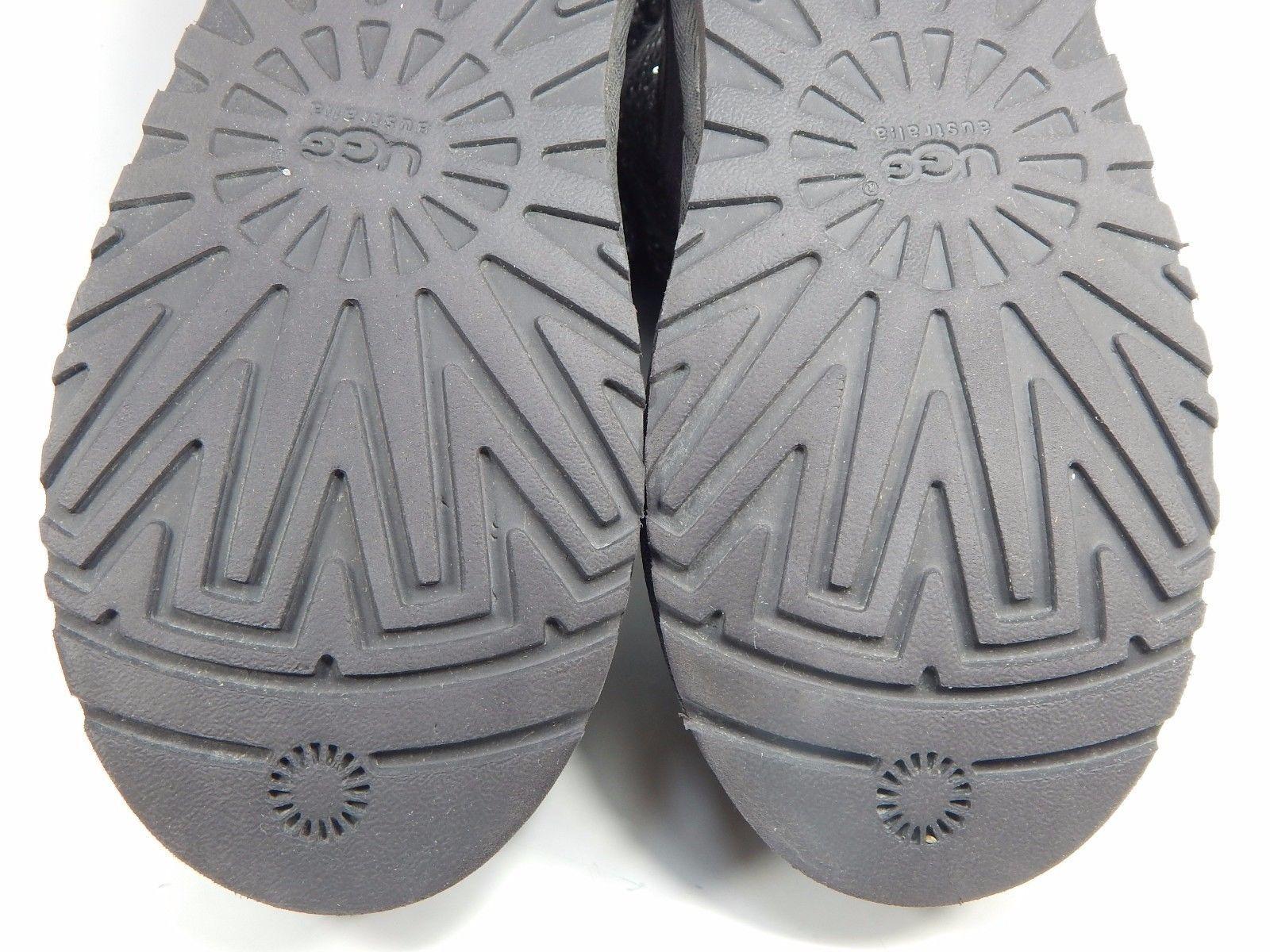 UGG Cambridge Buckle Ankle Boots Size 8 M (B) EU 39 Gray Model # 1006735