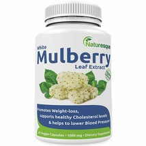 Naturesque White Mulberry Leaf Extract | Controls Appetite, Curbs Sugar ... - $28.12