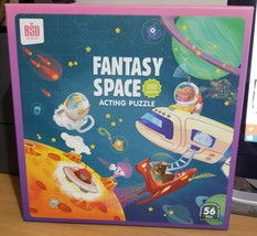 BSD Fantasy Space Acting Puzzle with Grating Piece to make puzzle NEW - $30.00