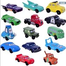 14pcs Disney Pixar Cars Lightning McQueen Mater Sally Action Figure Play... - $16.82