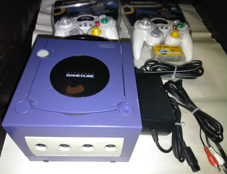 GameCube Nintendo Console Video Game System Tested Works Great