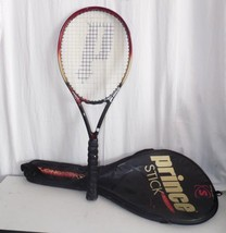 Prince Synergy Titanium Stick Longbody Tennis Racket & Case - $13.86