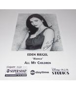 Eden Riegel Autograph Reprint Photo 9x6 All My Children 2003 Young Restless - $9.99