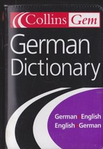 German Dictionary by HarperCollins Publishers Ltd 2003 Paperback Small P... - $5.93