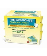 Preparation H Medicated Wipes 144 Wipes 3 Pouches 48 Wipes Each Maximum ... - $20.66