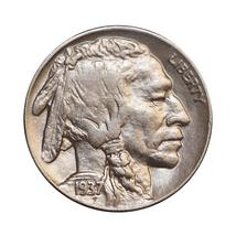 1937 D Buffalo Nickel - Choice BU / MS / UNC - $21.00