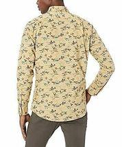 Goodthreads Men's Slim-Fit Long-Sleeve Printed Poplin Shirt,Brown Duck Print NEW image 4