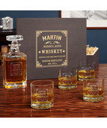 Stillhouse Personalized Carson Whiskey Decanter Set with Buckman Glasses - $149.95