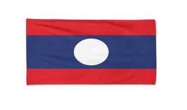 Laos Flag Beach Towel Swimming Towels Summer Holiday Towels Gym Towel - $24.99+