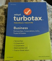 Intuit TurboTax Business 2018 Federal Returns Plus Federal E-File for Wi... - $24.26