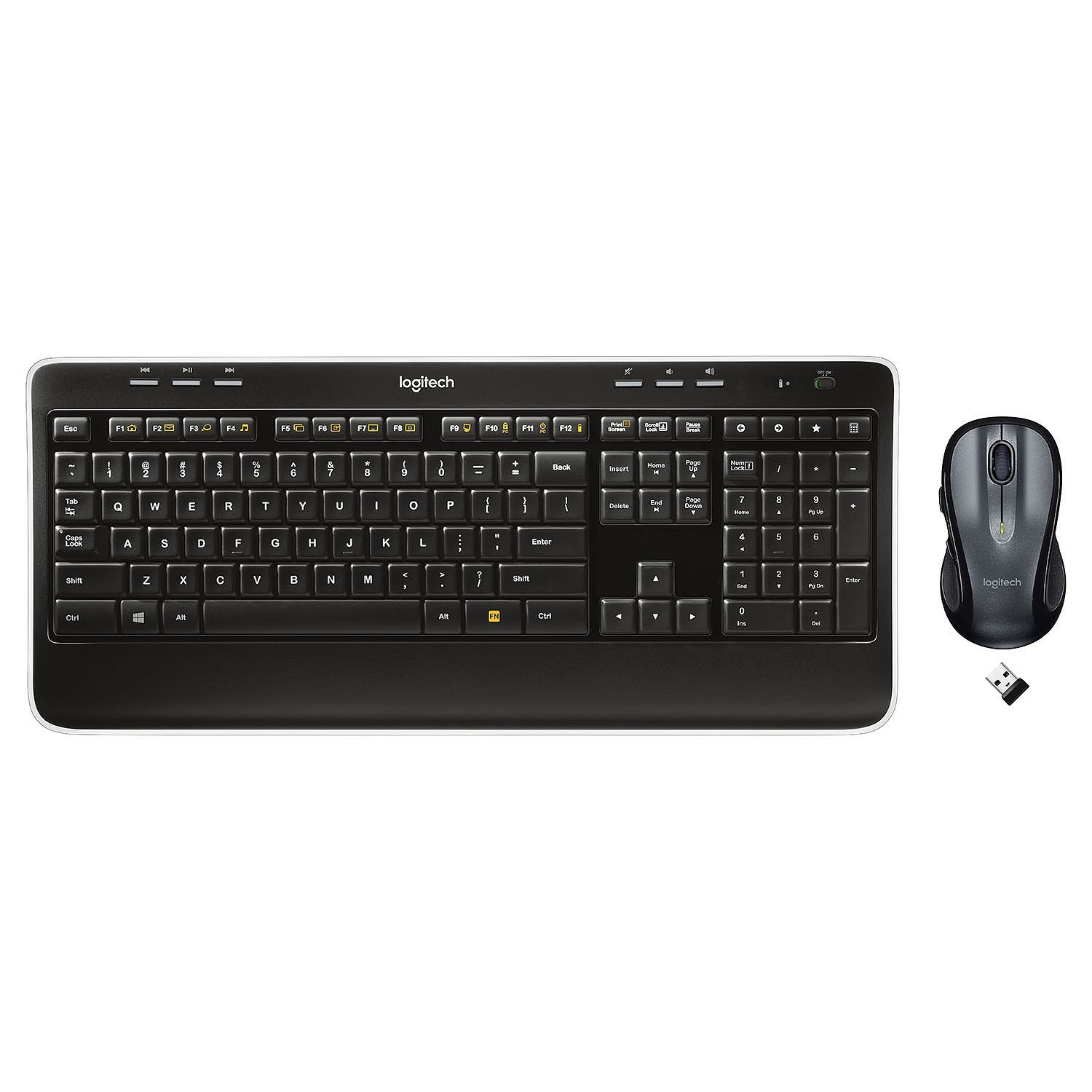 Logitech MK530 Advanced Keyboard and Mouse Bundle