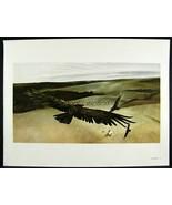 Andrew Wyeth Gravure Print SOARING Pennsylvania - $24.74