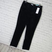 Charter Club Pants Womens 10 Navy Velvet Bristol Skinny D62 - $32.50