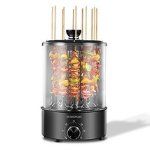 Vertical Rotisserie Oven 1100W, Multi-Function Electric Grill Smokeless Shawarma