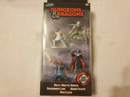JADA DUNGEONS & DRAGONS Die Cast Figurines DRIZZT MIND FLAYER HUMAN FIGHTER - $12.76