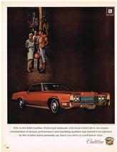 Vintage 1969 Magazine Ad Cadillac Fleetwood Eldorado Has Front-Wheel Drive - $5.93