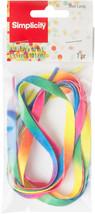"""Wrights Decorative Shoelaces 39""""-Rainbow - $15.00"""
