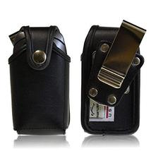 Turtleback Holster Small HD Black Leather Case for Pantech C520 Breeze, ... - $39.59